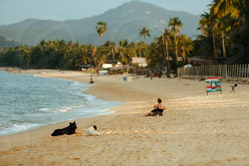 Bo Phut beach Koh Samui Thailand photo