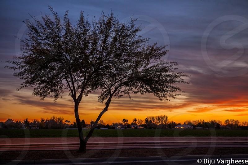 Sunset in Gilbert AZ photo