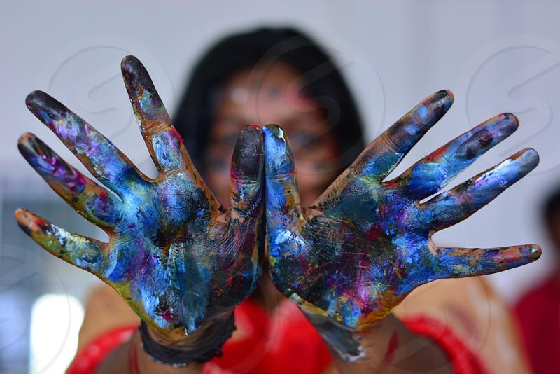 colours artist photo