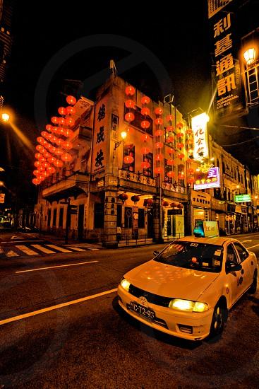 taxi ride in Macau photo