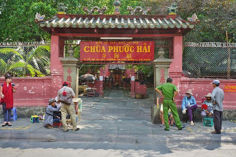 Jade Emperor Pagoda - Ho Chi Minh City Vietnam photo