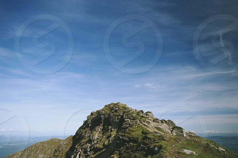 Ben Lomond peek mountain top landscape summer Scotland Munro climb climbing mountaineering photo