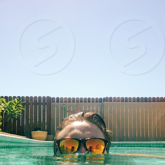Summer time swimming  photo
