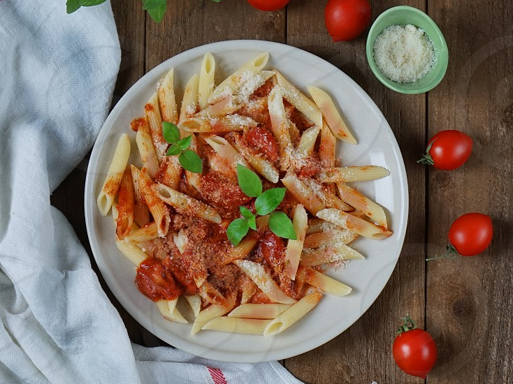 Pasta cooking photo