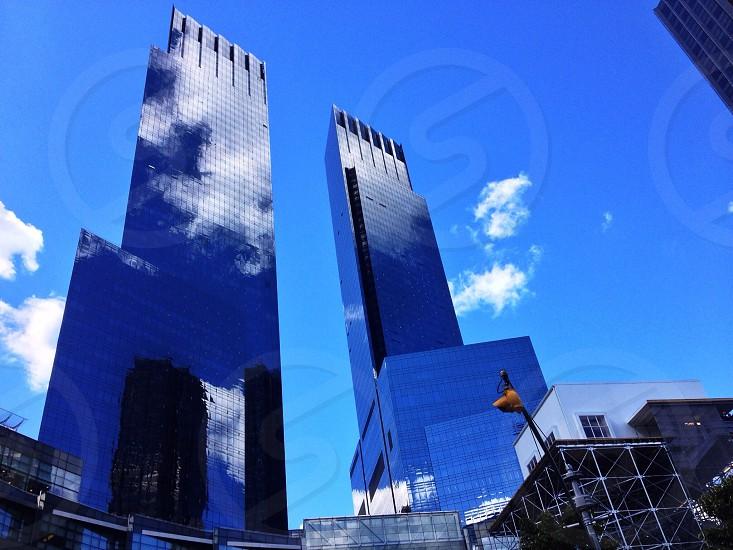NYC Manhattan TWC towers Architecture Blue Sky Traffic Light Big Apple Travel Adventure Happy Friends Love  photo
