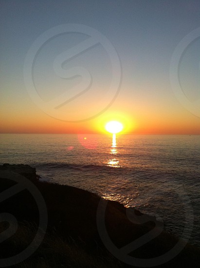Sunset in Oregon.  photo