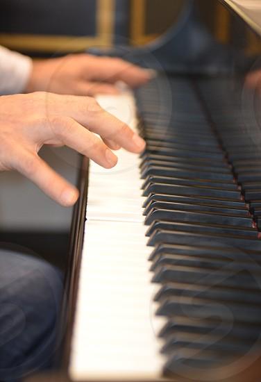 Creative creativity practice piano music musical musician hands photo