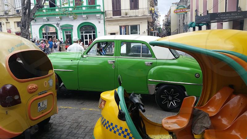 Havana vintage cars photo