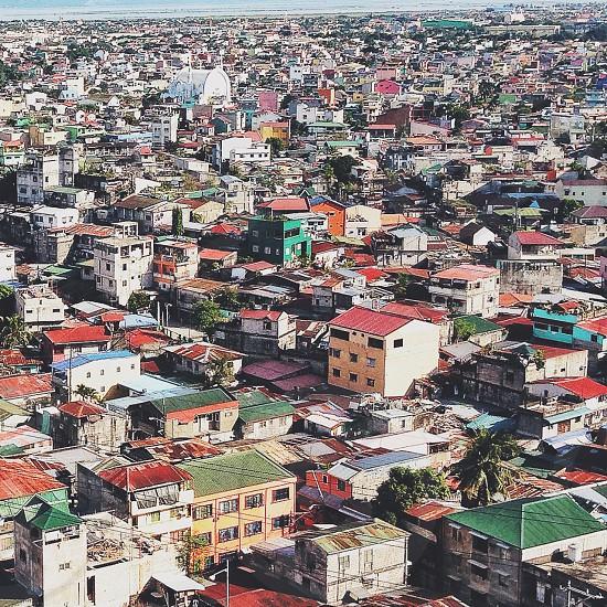houses high angle photography photo