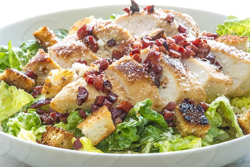 Caesar salad & Bacon bits photo