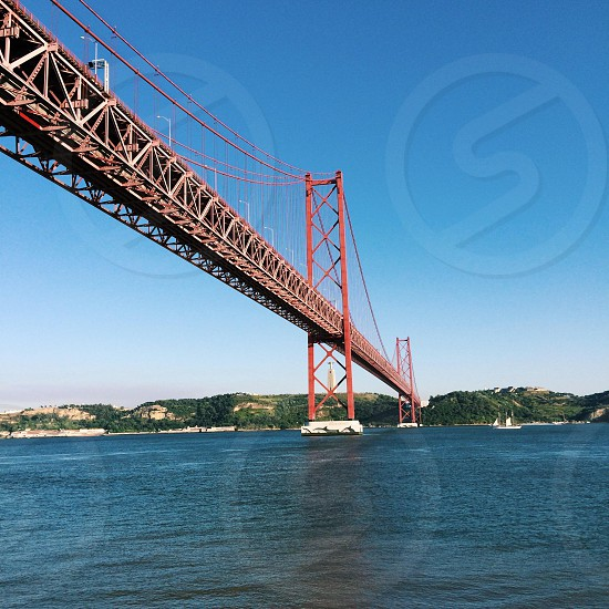 This is the most important bridge in Lisbon photo