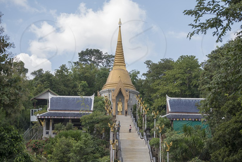 the wat Pa Phu Kon near the city of Udon Thani in the Isan in Northeast Thailand. photo