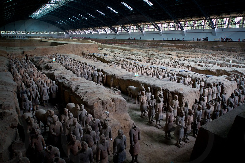 Terra Cotta Warriors China photo