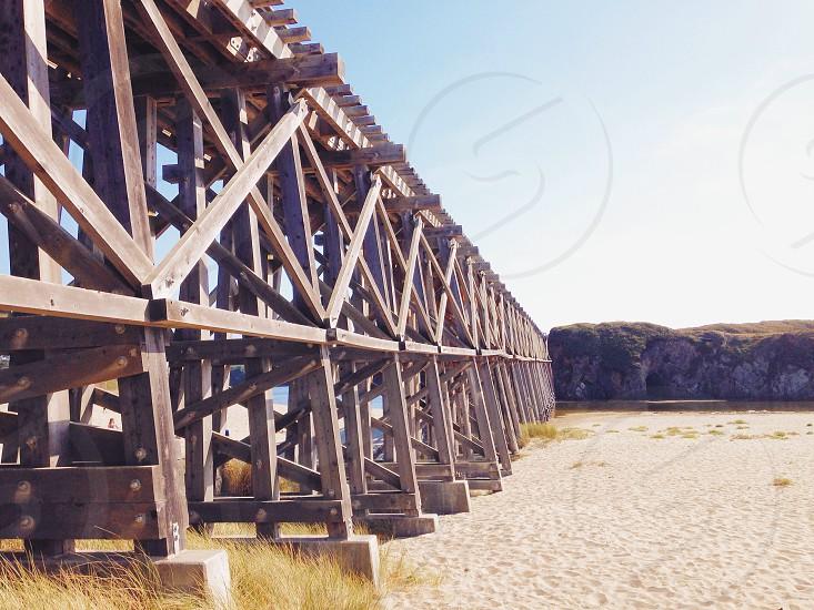photo of boardwalk photo