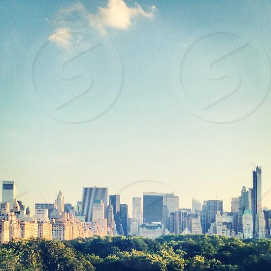 A view of Manhatten New York photo