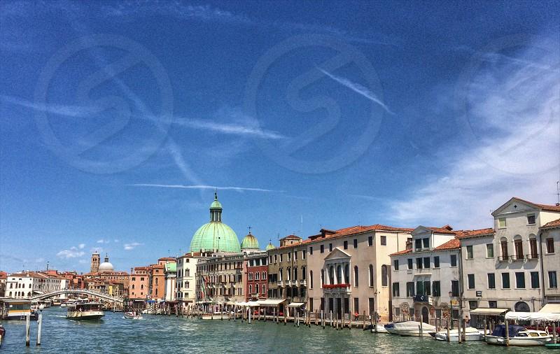 At the Dorsoduro Venice Italy photo