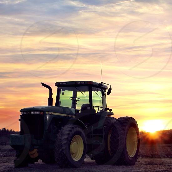 Sunset Hatfield Massachusetts photo