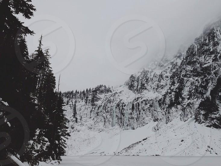 Frozen lakes photo