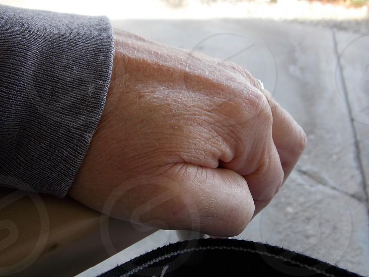 human left hand photo