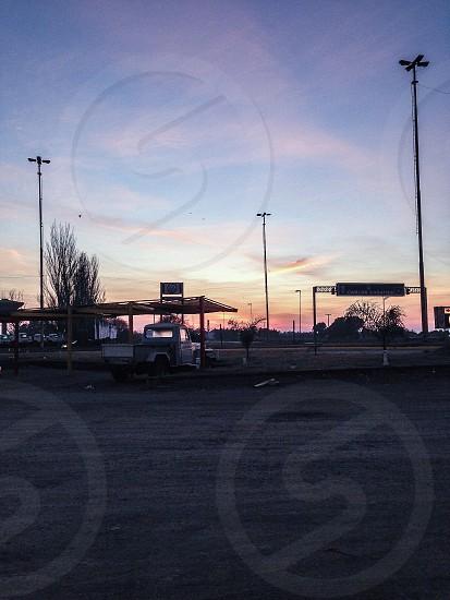 #gasstation #trucks #routes photo