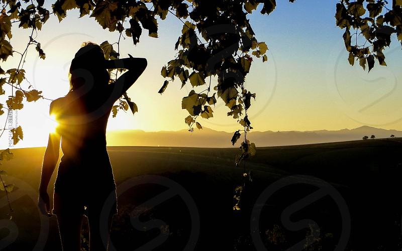 Girl in the Vines photo