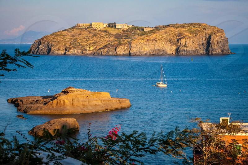 Santo Stefano da Ventotene isola mare sea island photo