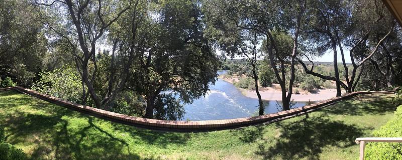 American river Sacramento  photo