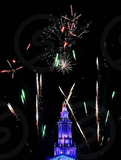 Fourth of July at the Capital Building (fireworks 4th celebration) photo