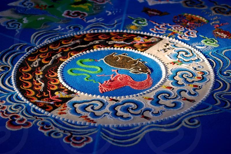 Sand Mandala  photo