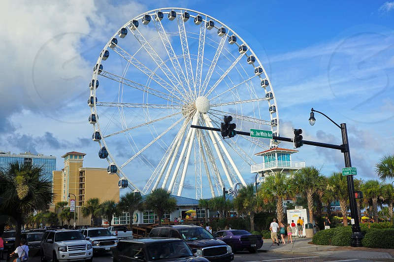 myrtle beach skywheel photo
