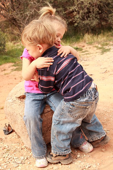 A Child's Hug for Love photo