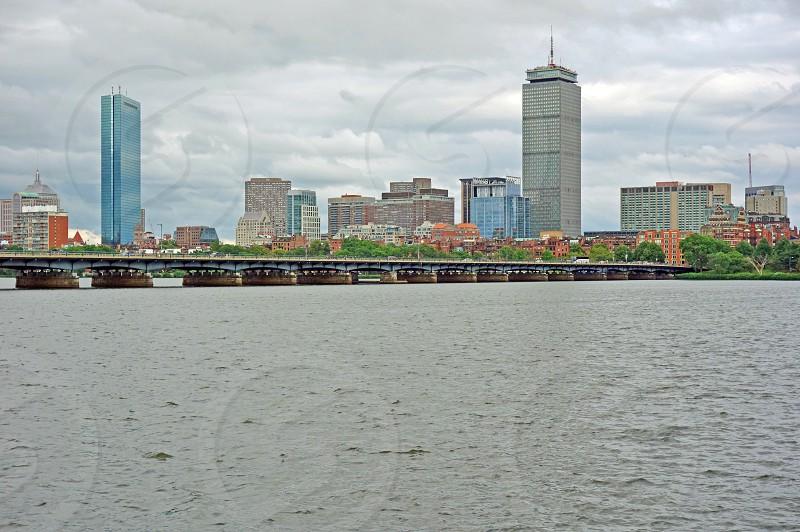 The John Hancock Tower in Boston Massachusetts photo