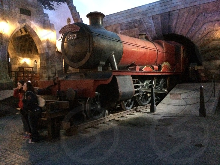 Hogwarts Express ready for departure! photo