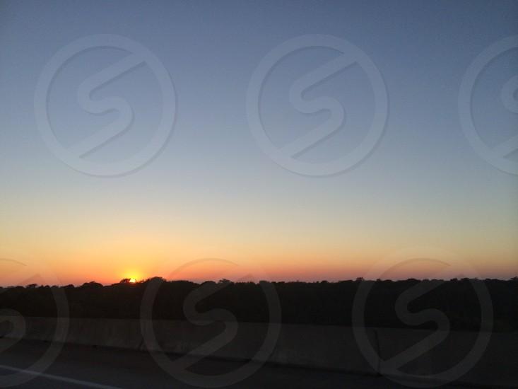 Sunset somewhere in GA photo