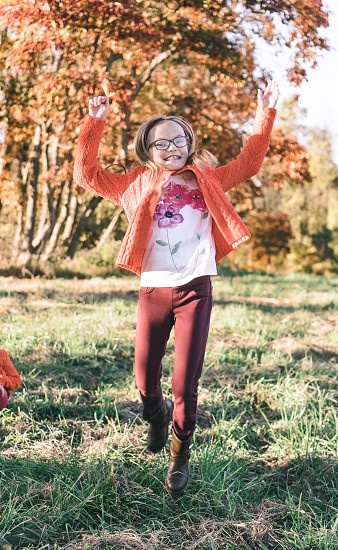 Jumping for fall! photo