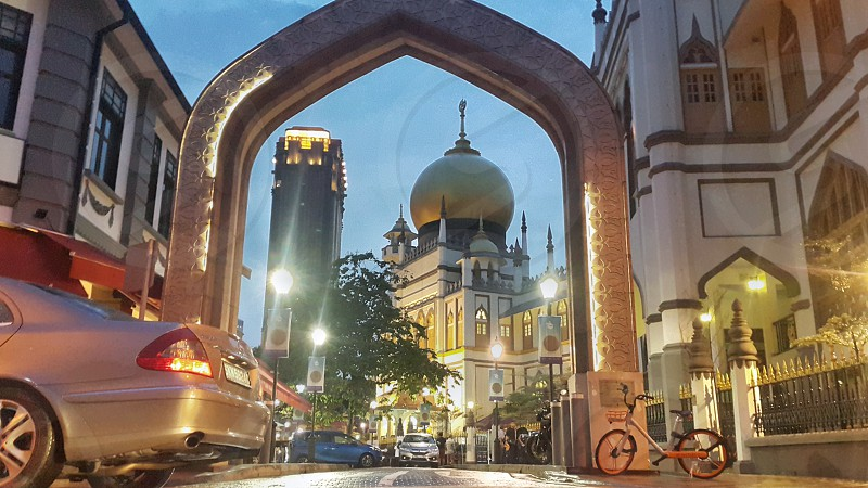 Masjid Sultan mosque in Singapore photo