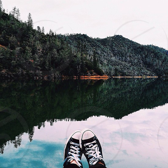 Lake views in Auburn California photo