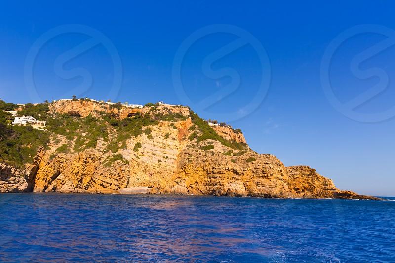 Xabia Javea Cala de la Barra in Mediterranean Alicante at Spain photo