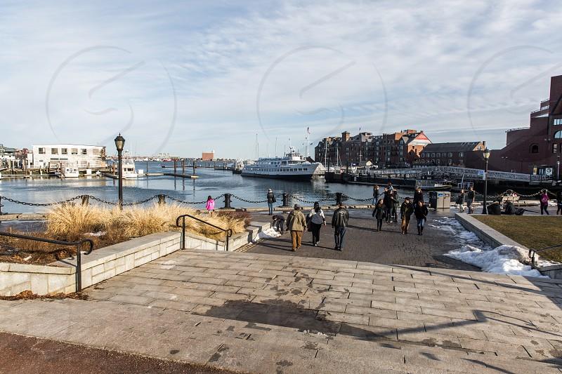 Boston Waterfront Neighborhood photo