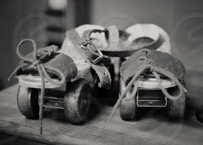 vintage roller skates photo