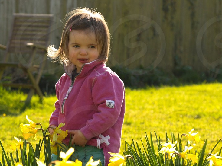 Baby summer garden photo