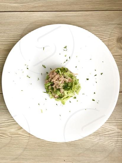 Tuna salad delicius photo
