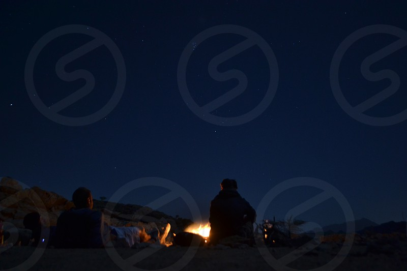 Camping in the mountains of Ras Al Khaimah photo
