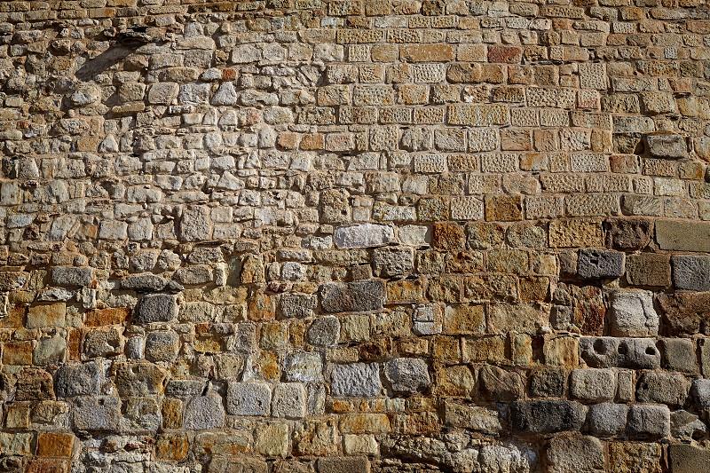 Salamanca in spain masonry detail along via de la Plata way to Santiago photo