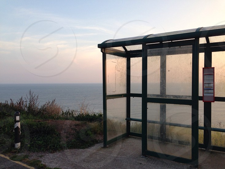 The most beautiful bus stop in the world? photo