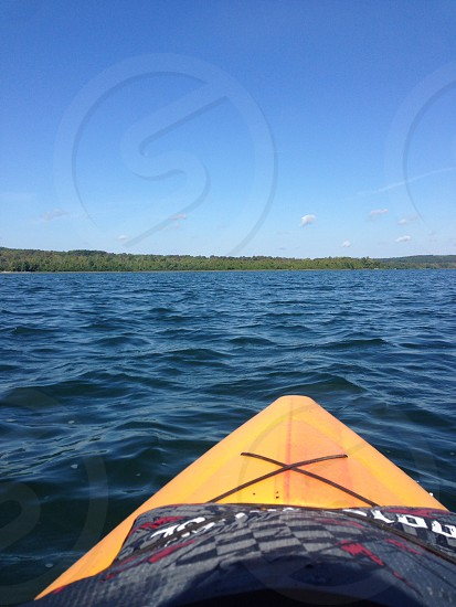 Kayaking on Cedar Lake End of Summer 2014 photo