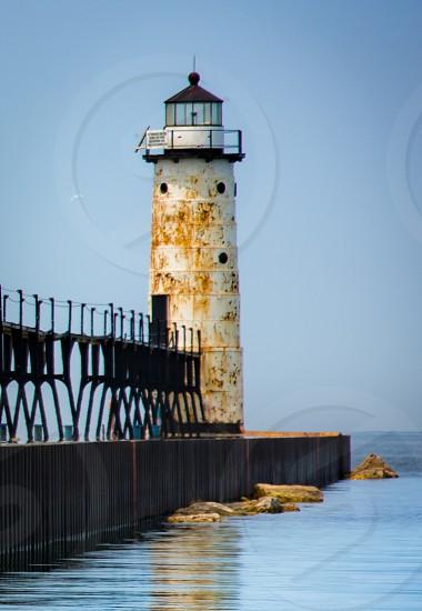 Lighthouse. Michigan photo