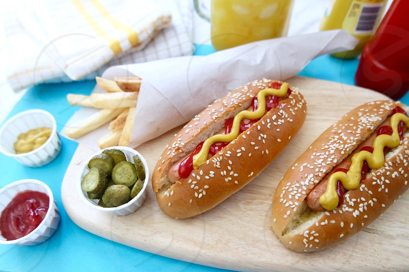 Hotdog #fastfood #hotdog #food  photo