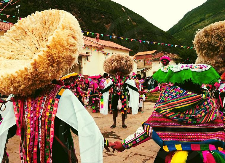 Incan festival photo