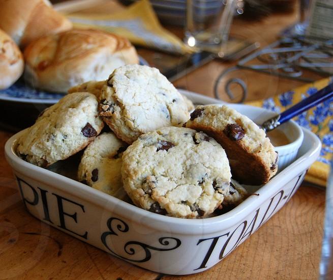 brown cookies photo